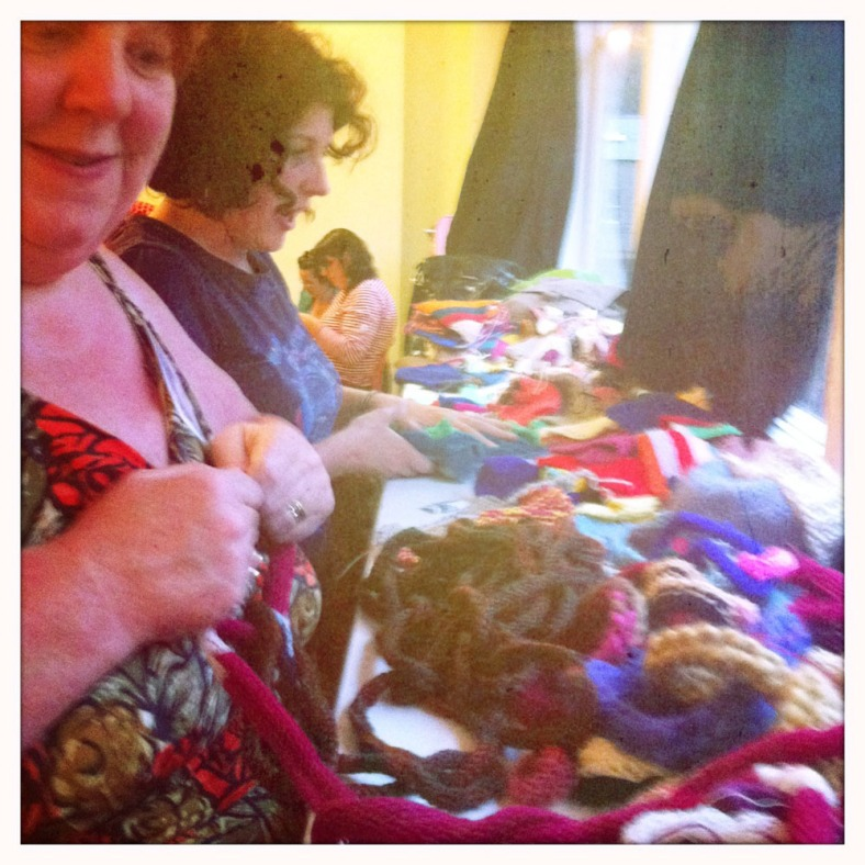 How much knitting did we all do to decorate Hebden Bridge with?
