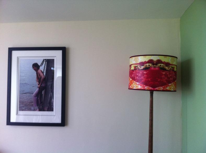 Corner of Adam's living room