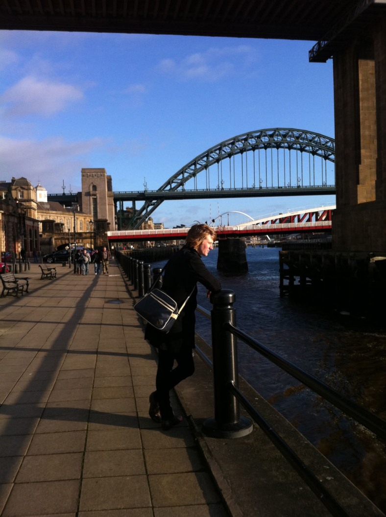 Adam in the city he loves - Newcastle