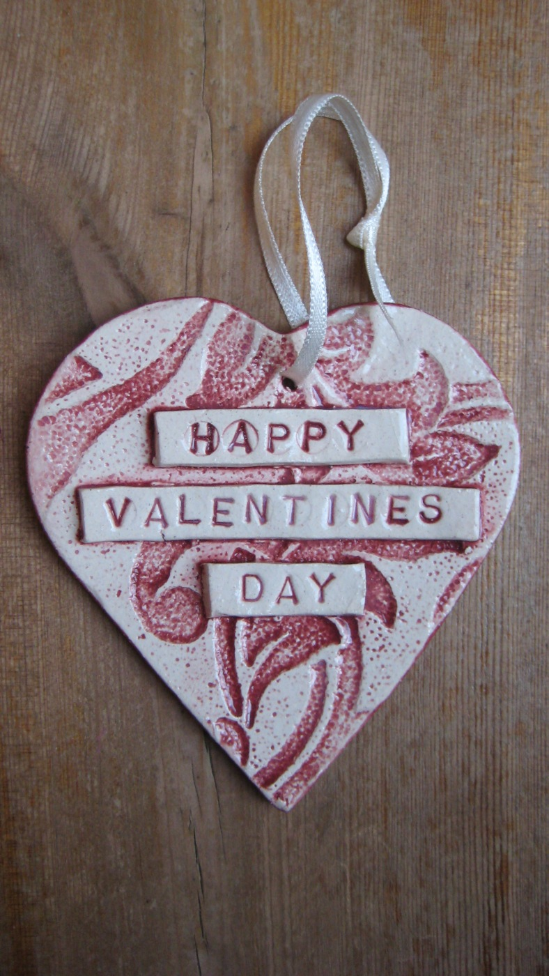 Or why not keep it simple with a ceramic love heart