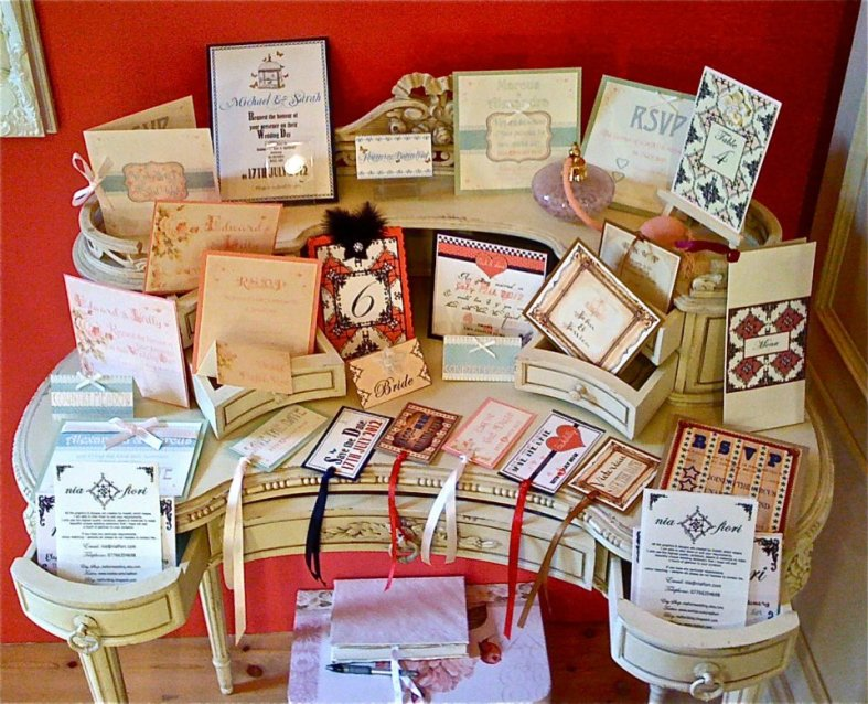 Nia Fiori - Wedding stationery