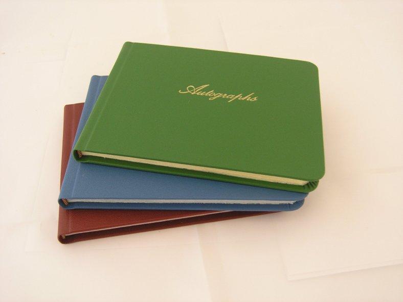 Heather's Autograph books