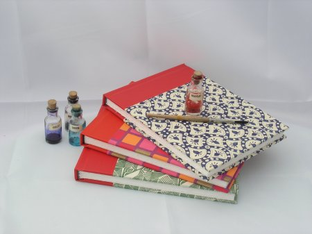 Heather's watercolour sketchbooks