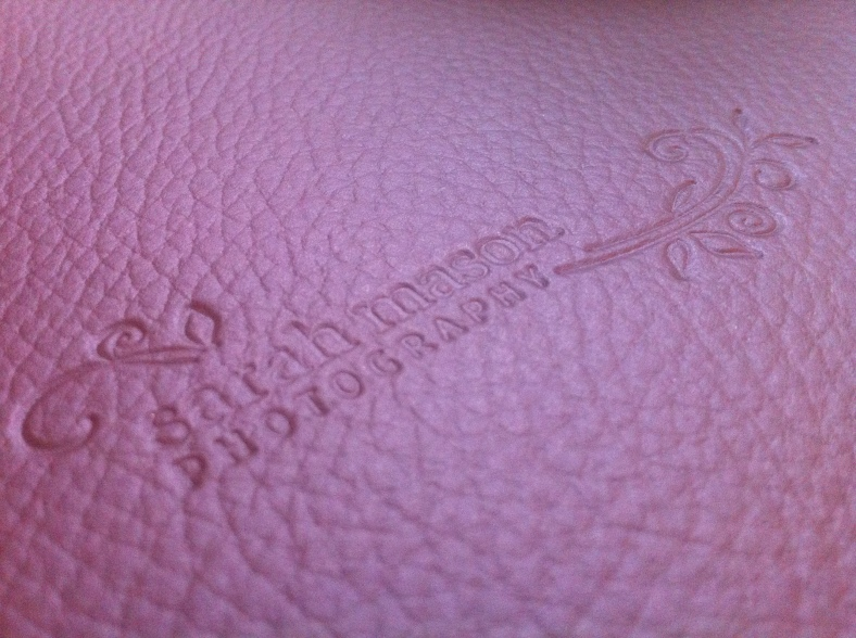 Sarah Mason Photography leather Wedding Albums