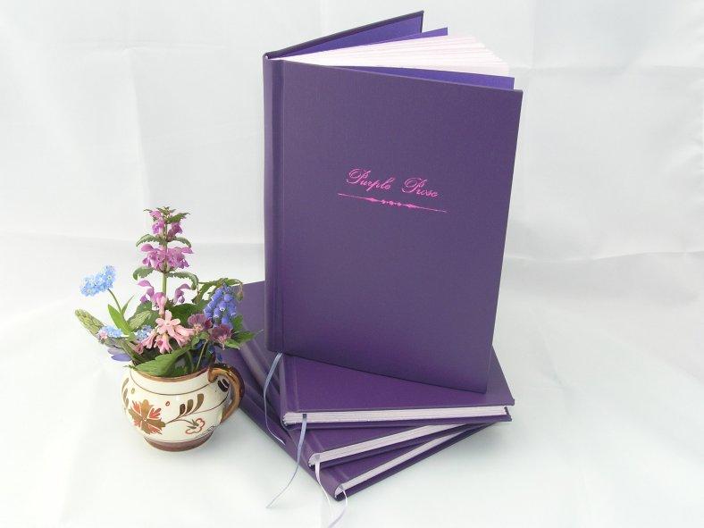Heather's 'Purple Prose' journals