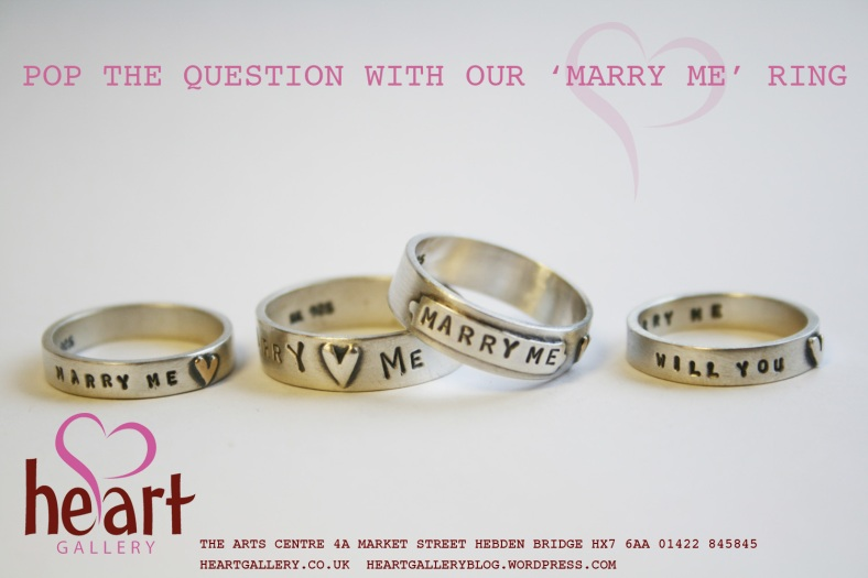 Will You Marry Me 'pop the question' ring