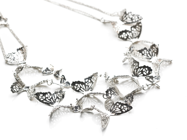 Butterfly Effect Cloud Necklace