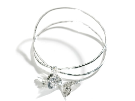 Butterfly Effect Twisted Charm Bangle