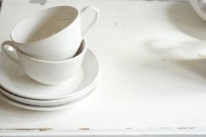 Cups on dresser - Rachel Dormer