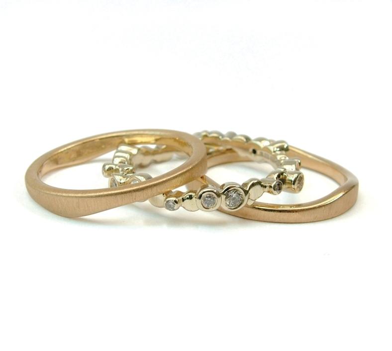 Precious gem set jewellery by Helen Brice