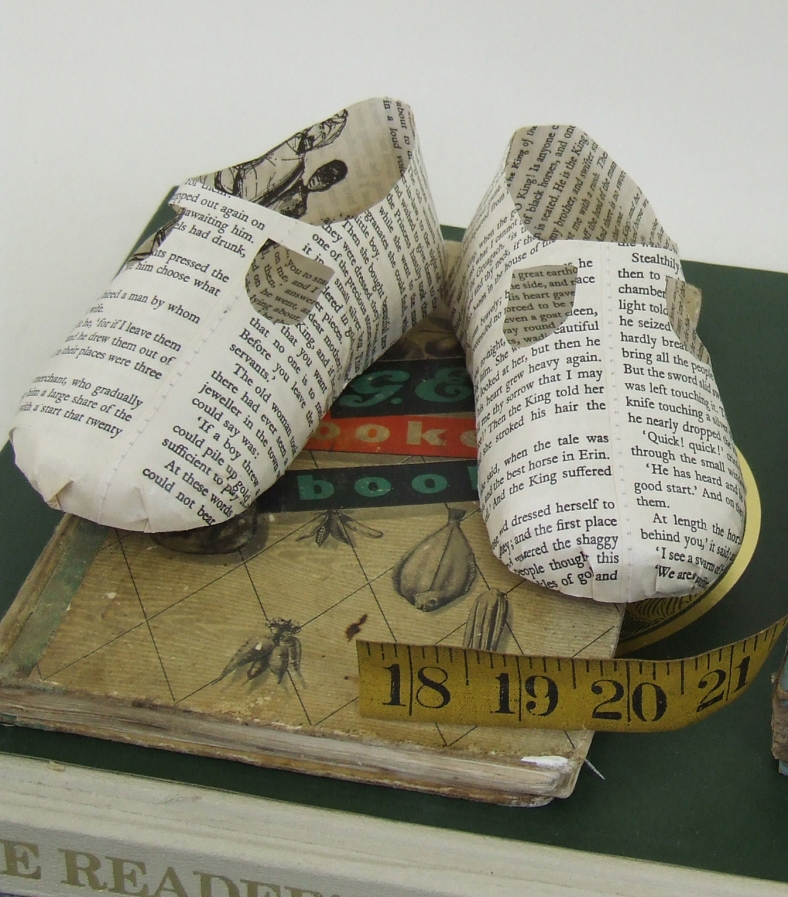 Baby book shoes