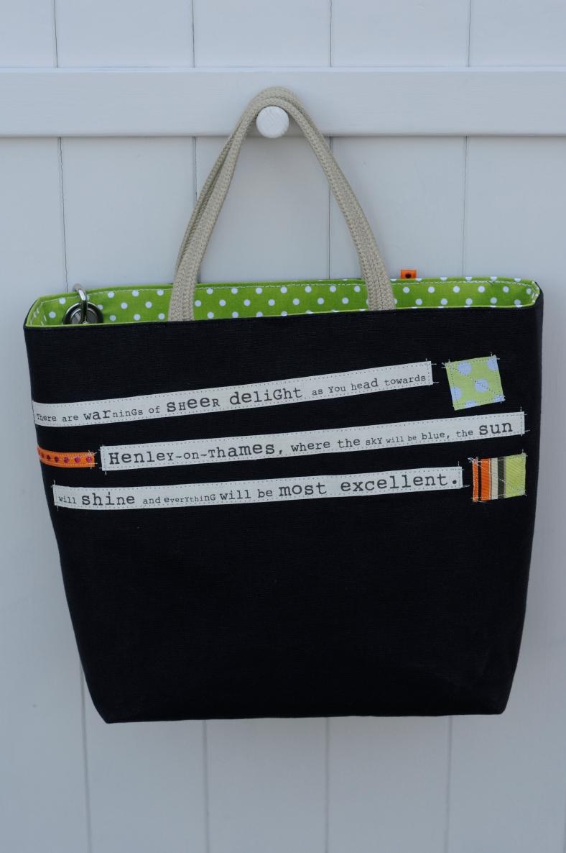 Black Bag - Alison Hughes
