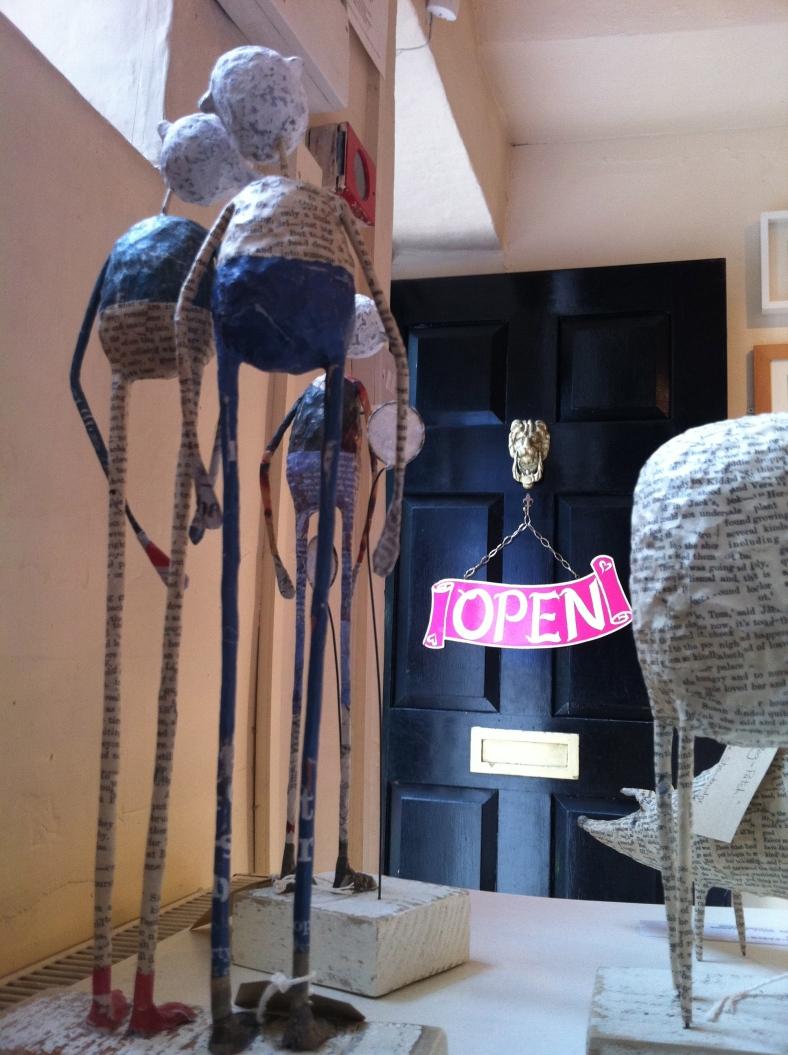 Jane Strawbridge's work in Heart Gallery