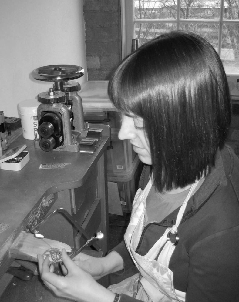 Lucy Palmer - jeweller