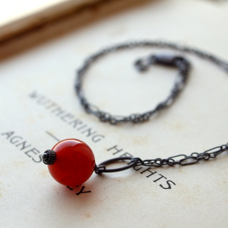 Mars necklace by Rachel Lucie