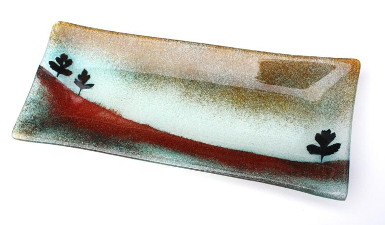 Colette Halstead Glass - Landscape Dish