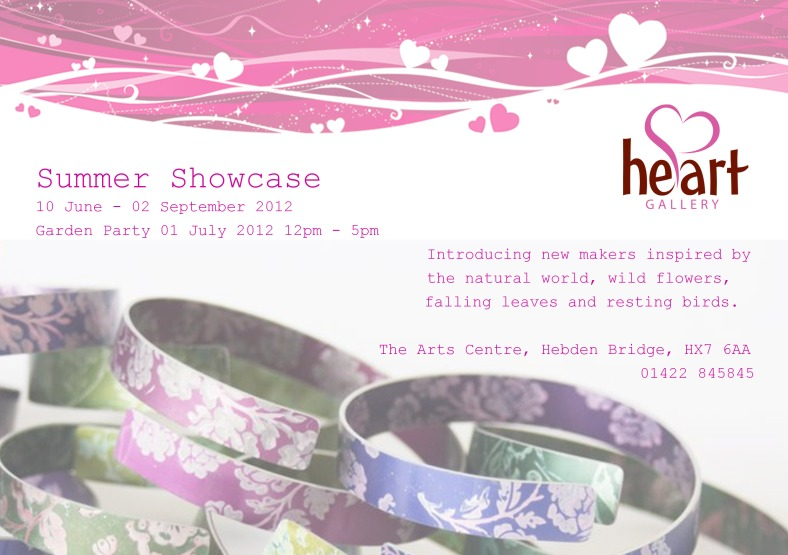 Summer Showcase 2012 invitation