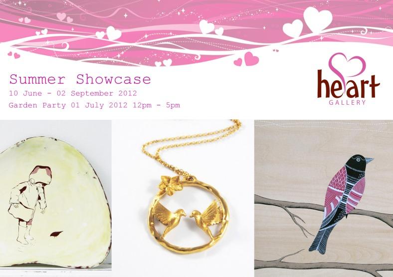 Summer Showcase 2012 invitation