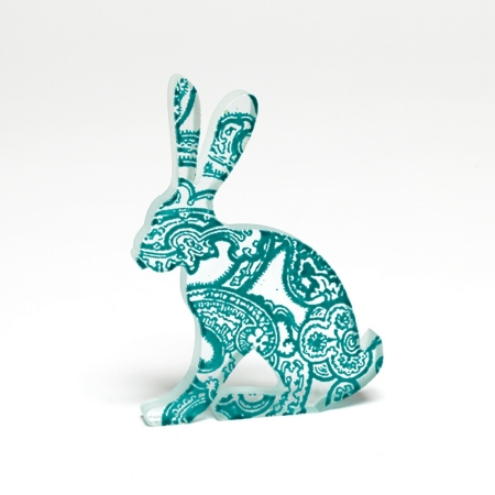 Glass PaisleyLeveret
