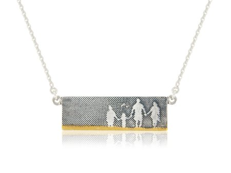 Beach Family Necklace - Charlottte Lowe