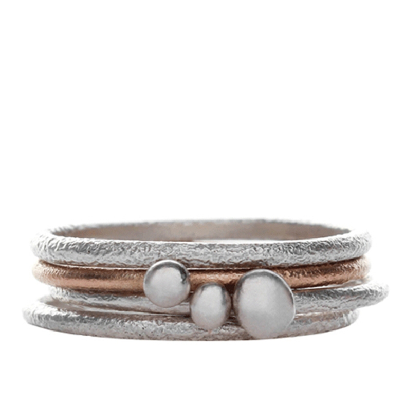Seaside Stacking Rings - Becca Williams