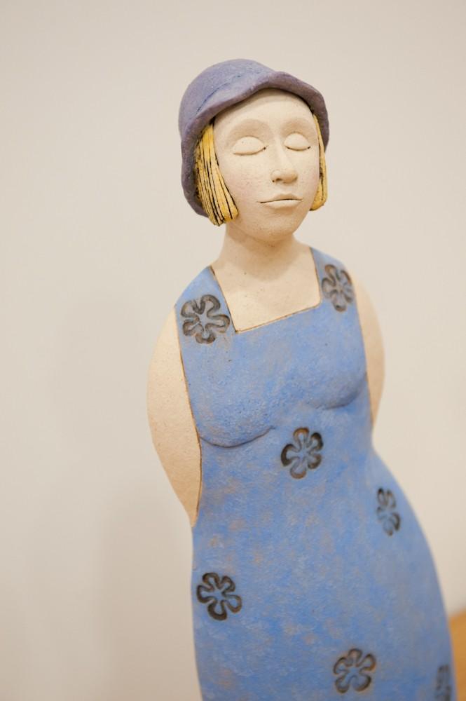 Woman in dress - Sarah McDade