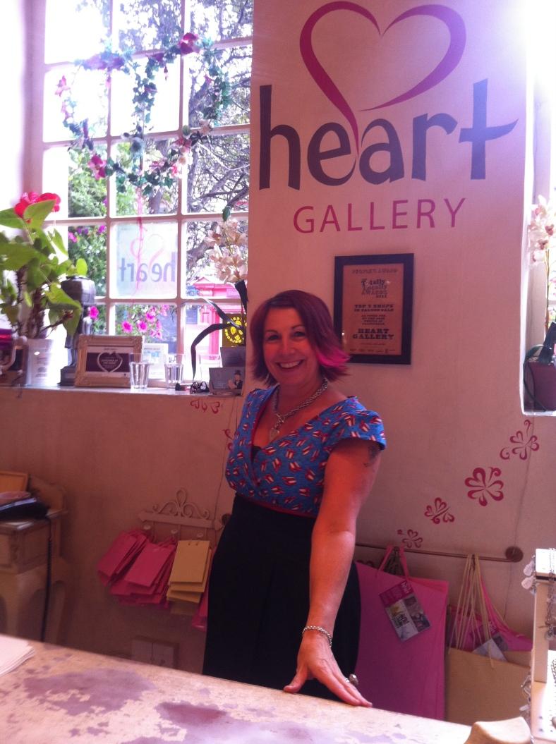 Alison in Heart Gallery