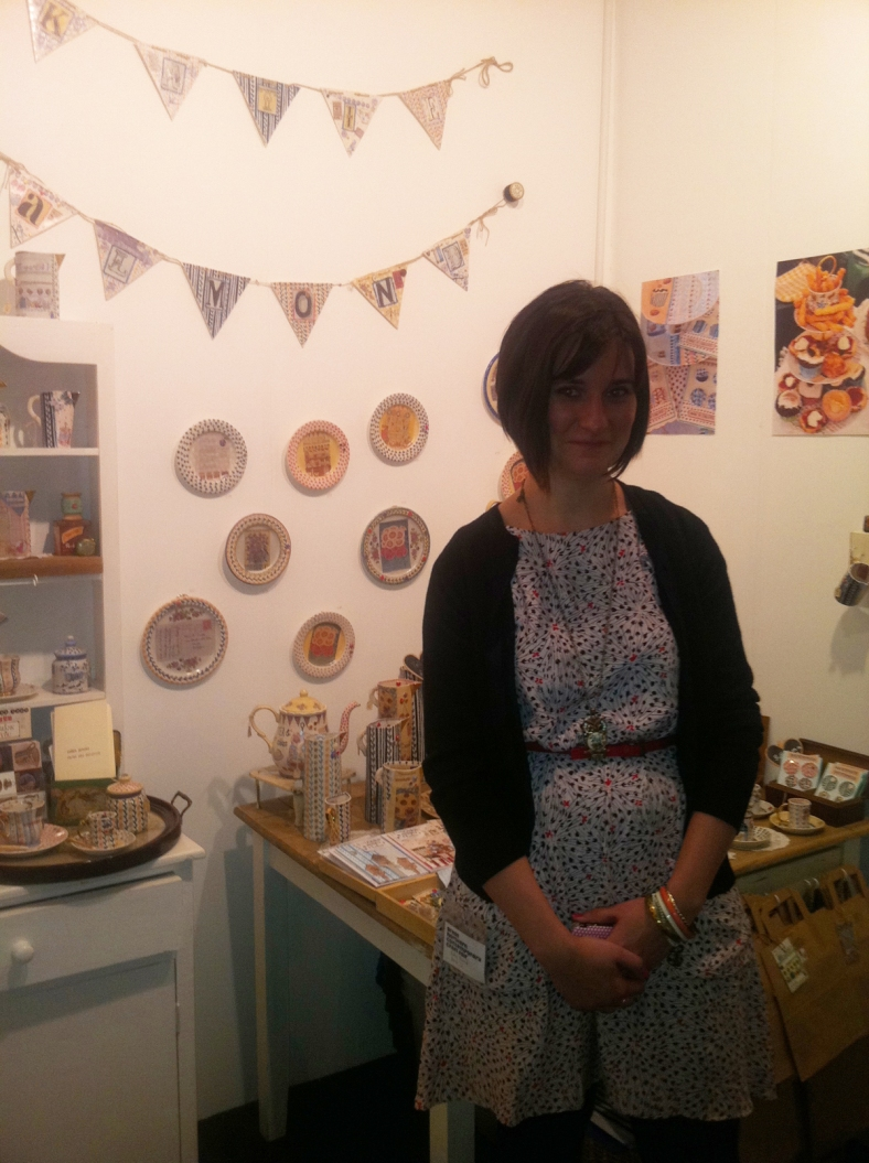 The lovely Katie on her stand at this last week's GNCCF in Manchester