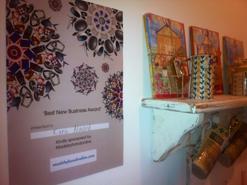 Katie's Best New Business Award
