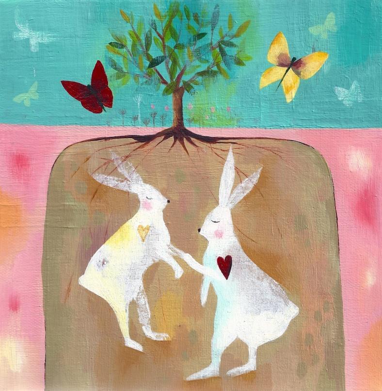Hares - Julia Ogden