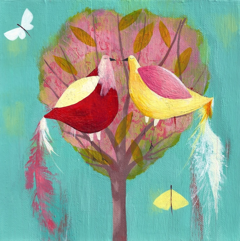 Heart birds - Julia Ogden