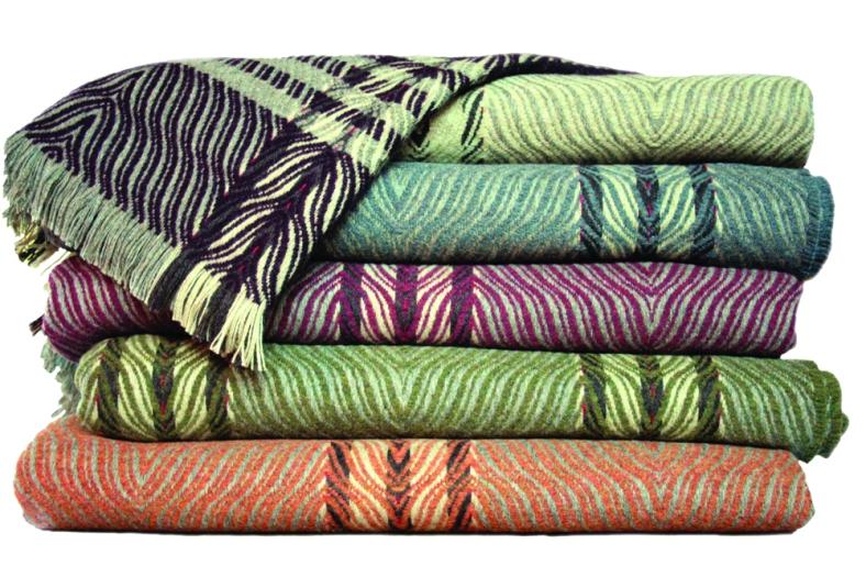 Sarah Tyssen - Hand woven blankets