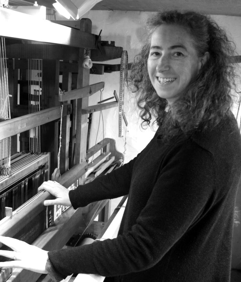 Sarah Tyssen - textile artist/weaver