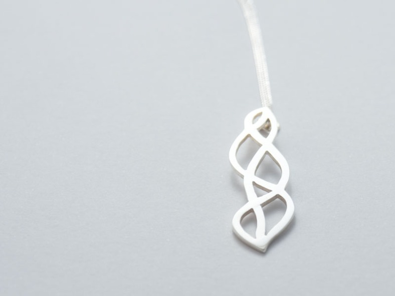 Silver pendant by