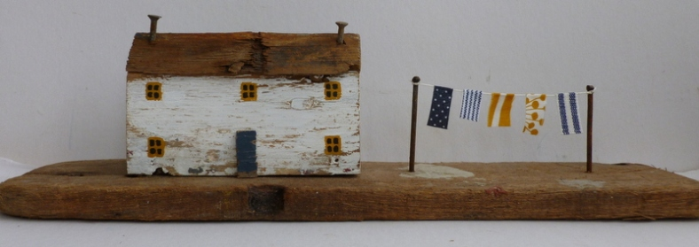 Cottage with washing