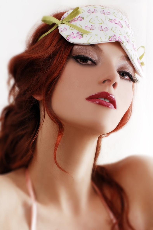 lavender filled silk eye mask