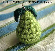 It all went a bit 'pear shaped'