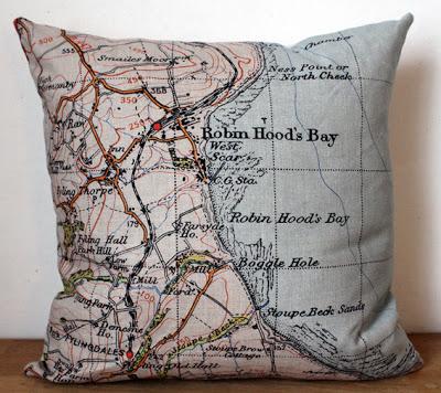 Robin Hoods Bay Cushion