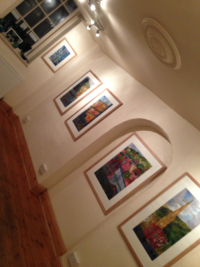 All looking great, now to introduce Kate's paintings to the rest of the world!
