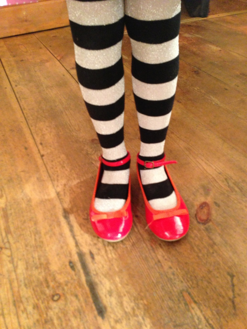 Hattie's red shoes matched mummy's and this blog post would not be complete without this fab photo