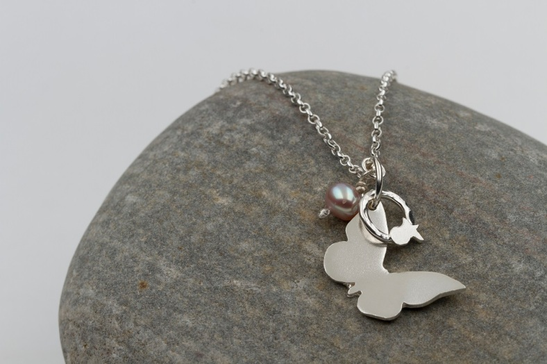 Cute silver jewellery from Karen and Victoria perfect for bridesmaid's pressies