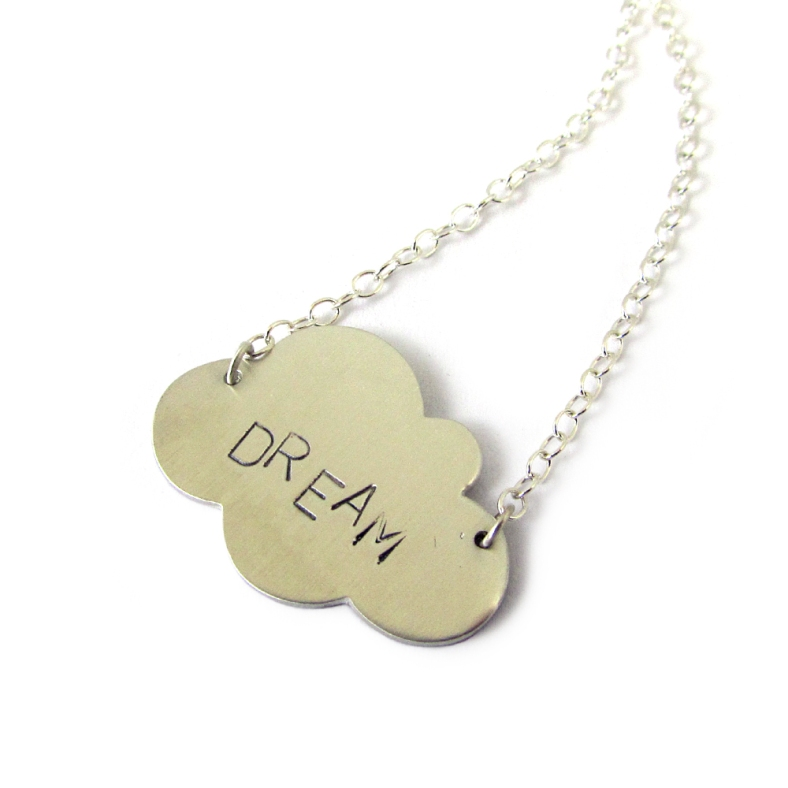 Dream Cloud silver necklace