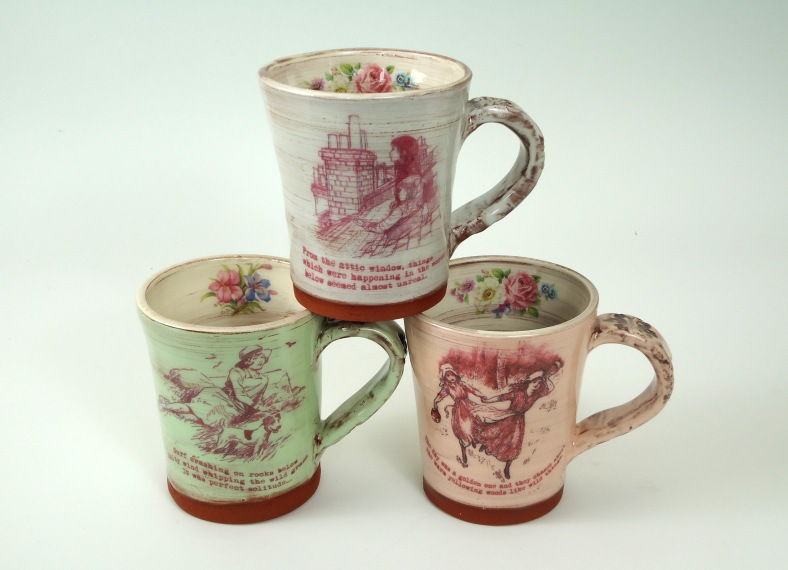 Jane's ceramic mugs