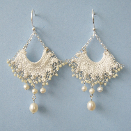 Vintage Lace Elise earrings