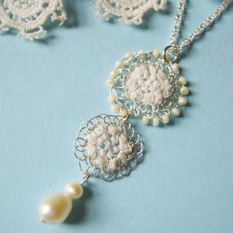 Vintage Lace Clara necklace