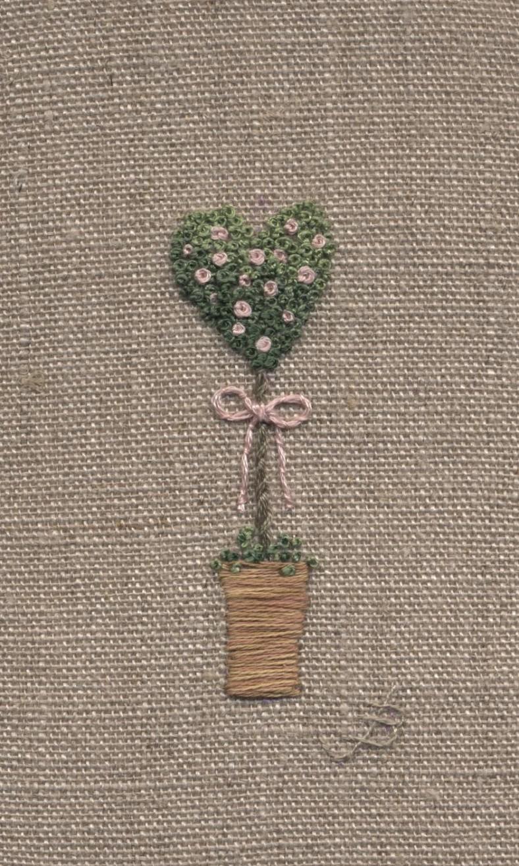 Heart Rose Bush