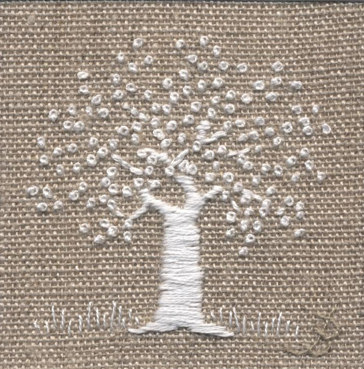 Tree -  hand embroidery