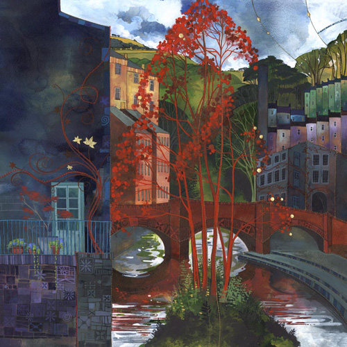 Red Leaves - Kate Lycett