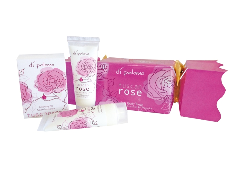 Tuscan Rose Christmas Cracker Gift Set