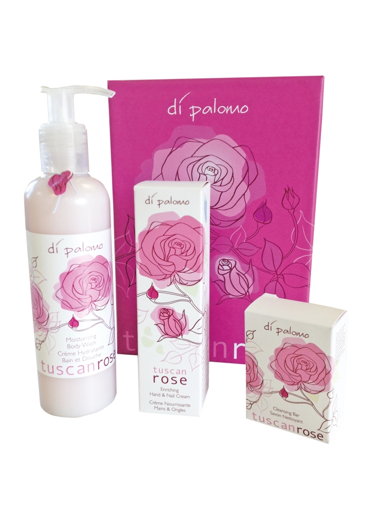 Tuscan Rose Pamper Gift Set
